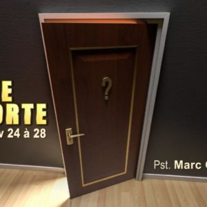 Ferme la porte